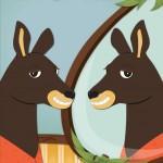 Origo Education - 'Mirror, Mirror' illustrated storybook. Adobe Illustrator
